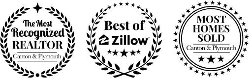 The Most Recognized Realtor - Canton & Plymouth | Best of Zillow | Most Homes Sold - Canton & Plymouth