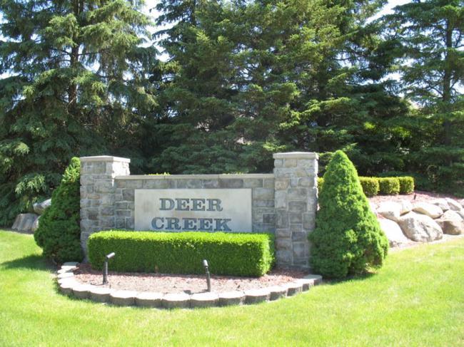Deer Creek Neighborhood Sign