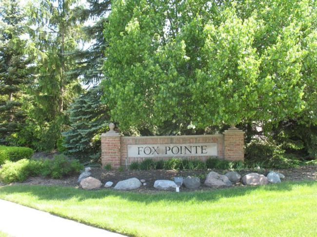 Fox Pointe Neighborhood Entrance Sign
