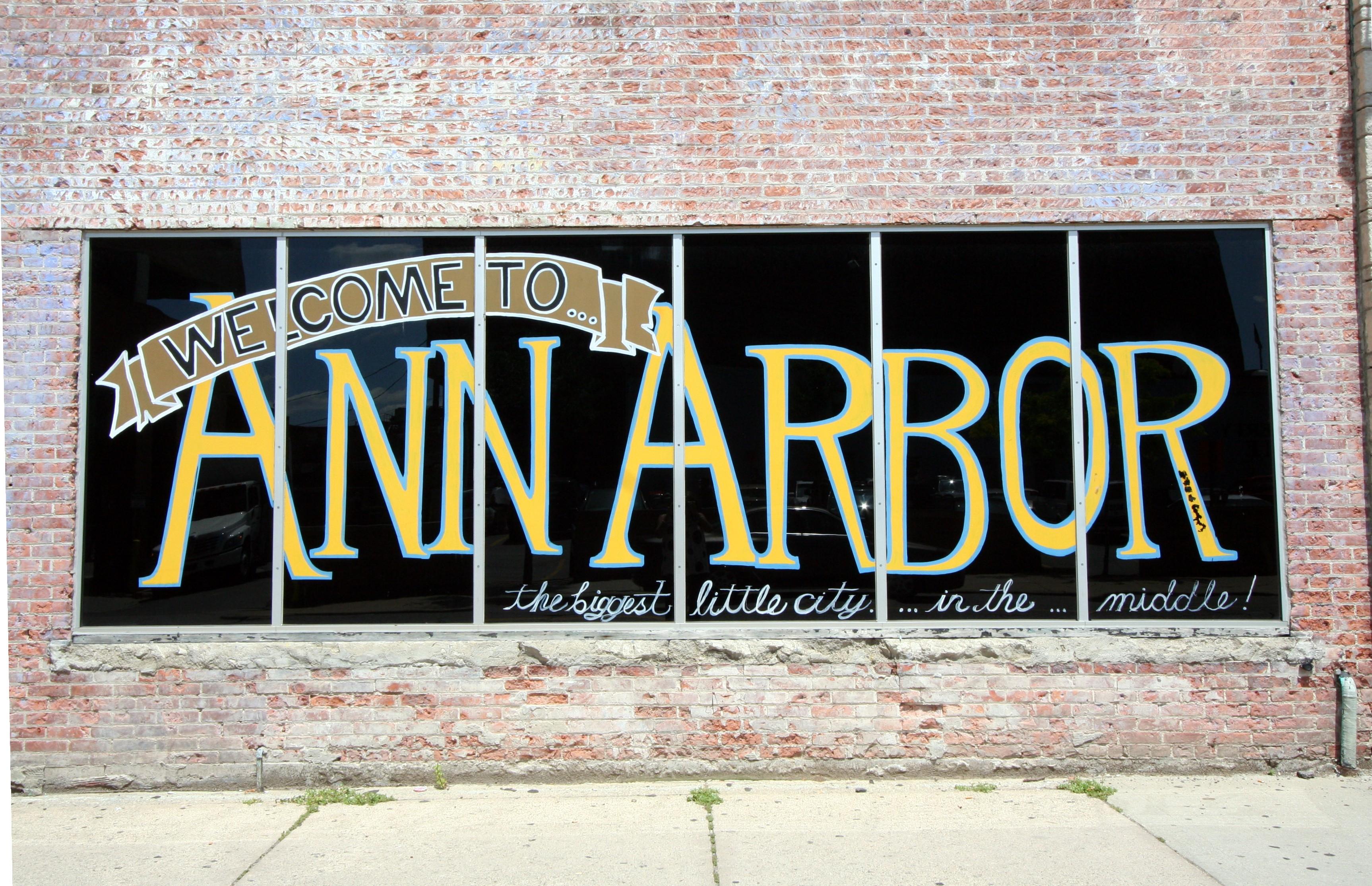 Ann Arbor MI Street Art