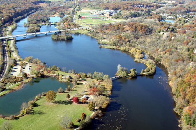 Gallup Park - Huron River, Ann Arbor MI