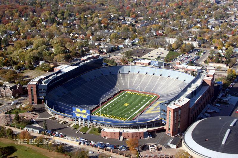University of Michigan 'Big House' Football Stadium