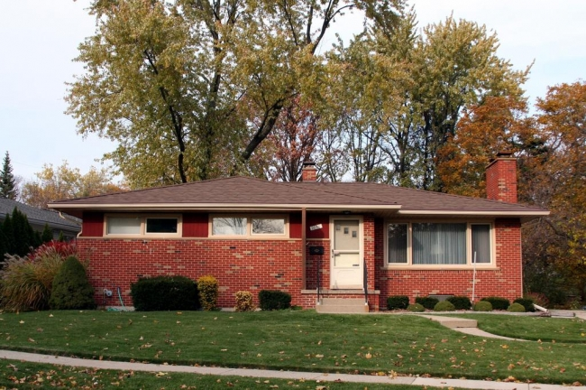 Vernon Downs Subdivision, Ann Arbor