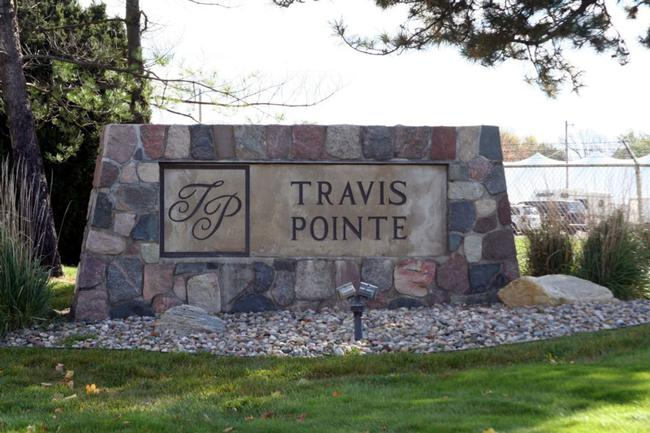 Travis Pointe, Saline Entrance to Subdivision