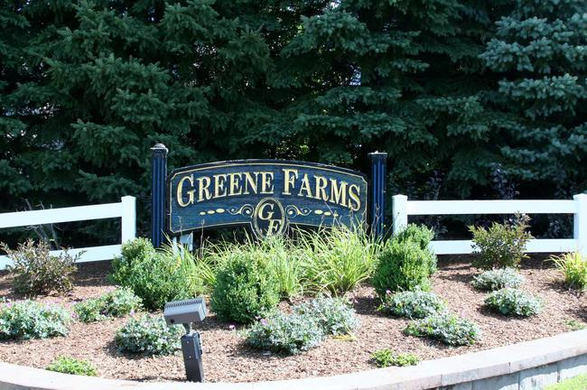 Greene Farms Subdivision, Ypsilanti MI Entrance