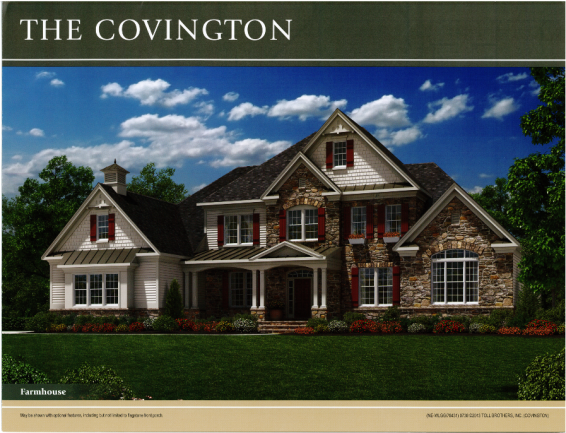 The Covington Luxury Ann Arbor Home at Woodlands of Geddes Glen