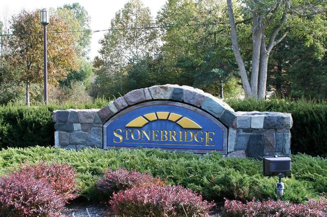 Stonebridge Estates Subdivision, Ann Arbor Entrance