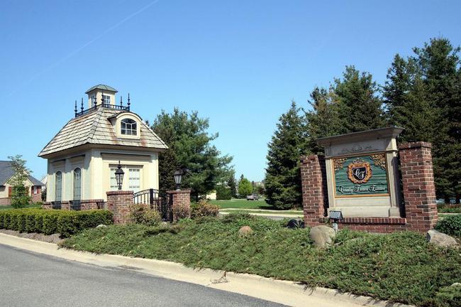 Country French Estates Ann Arbor Entrance