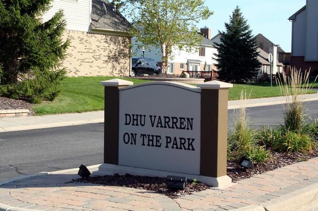 Dhu Varren on the Park, Ann Arbor Entrance