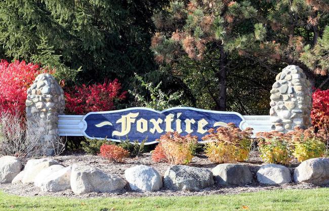 Foxfire Subdivision, Ann Arbor Entrance