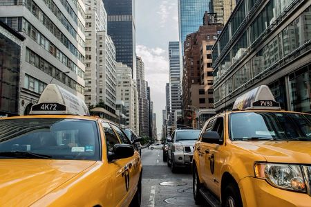 taxi access to nearby neighborhoods
