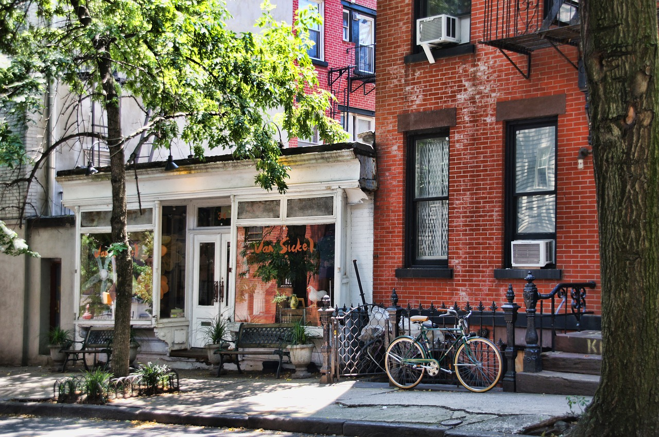 lovely rowhouses in murray hill