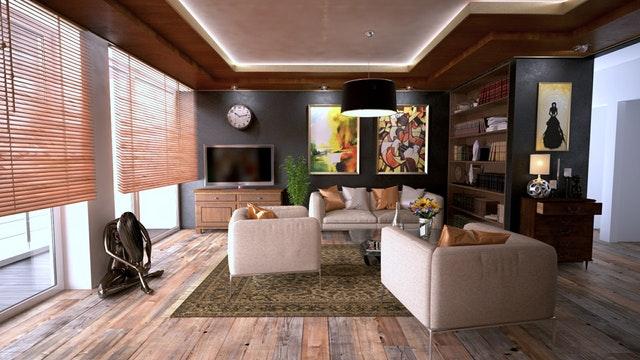 inside of a modern condo