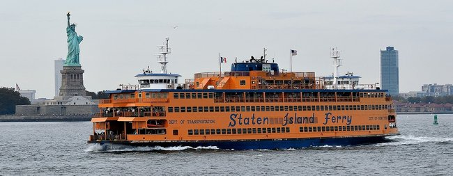 St. George is home to the Staten Island Ferry terminal.