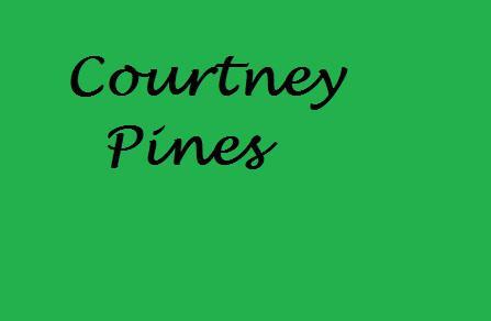 Courtney Pines