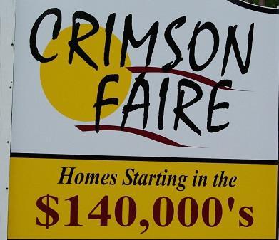 Crimson Faire Sign
