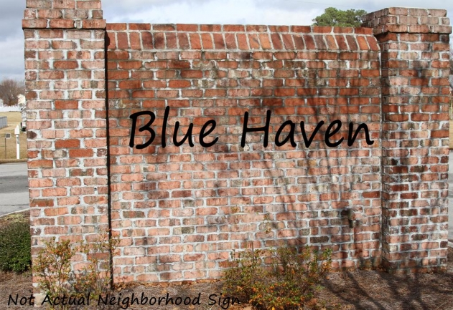 Blue Haven Sign