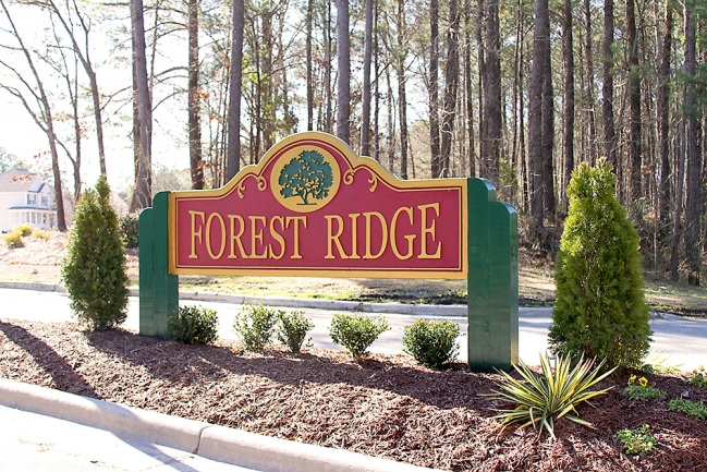 Forest Ridge Entrance