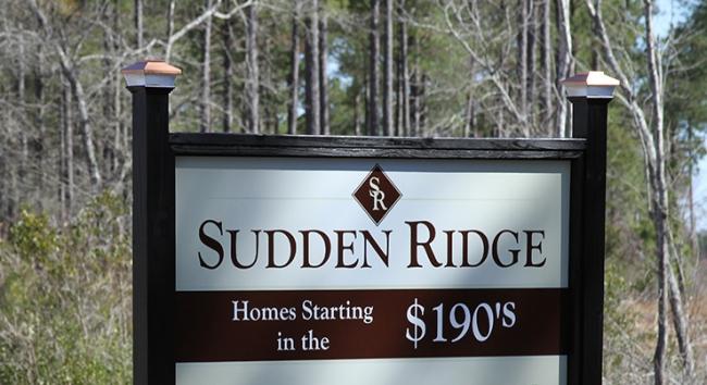 Sudden Ridge Entrance