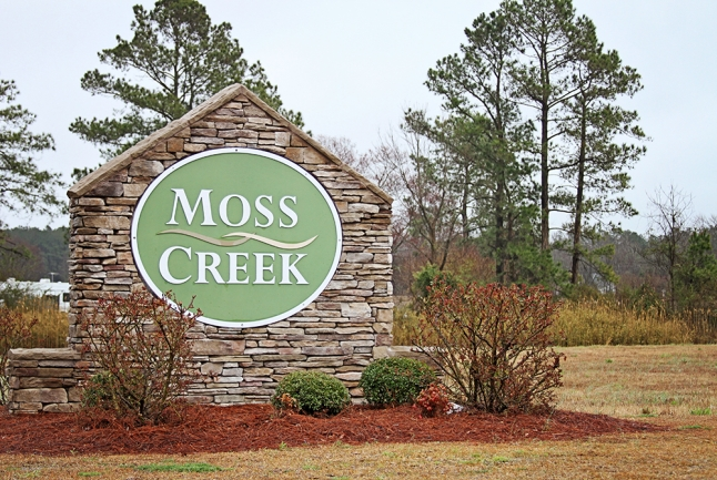 Moss Creek Entrance