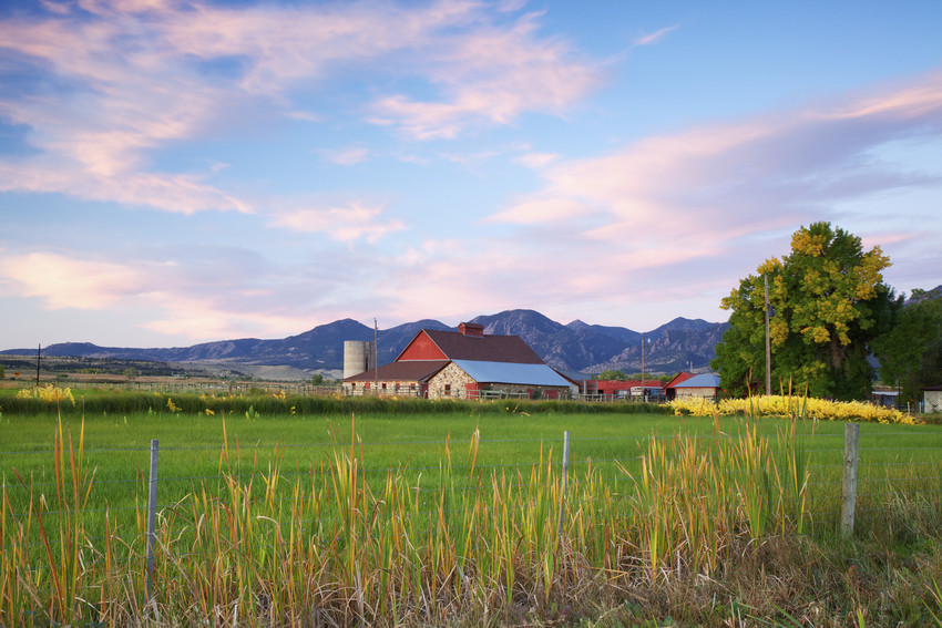 breathtaking mountains and ranches