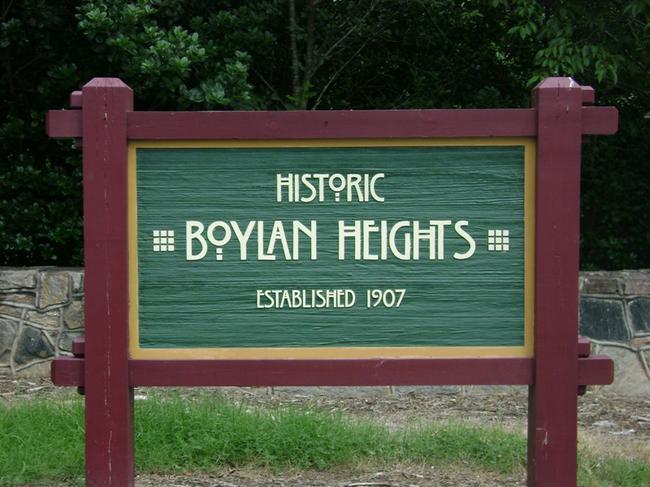 Boylan Heights in Downtown Raleigh NC
