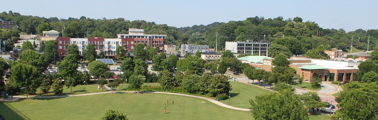 chattanooga tennessee park and buildings