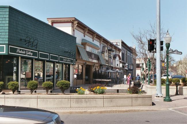 Downtown Plymouth, MI Neighborhood Shopping
