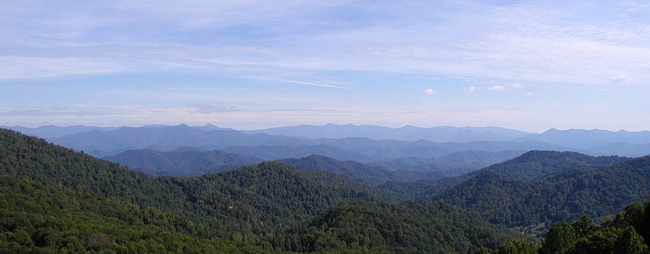 blue ridge mountains of western north carolina