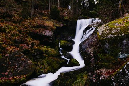 Saluda NC Mountain Waterfall