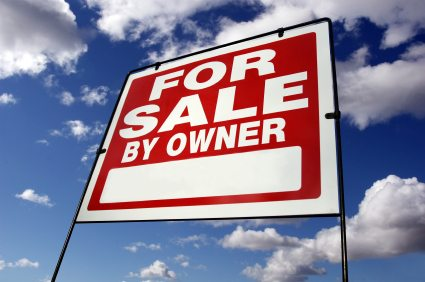 For Sale By Owner sign.