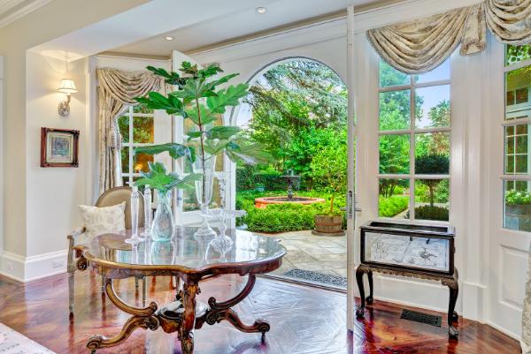 luxury empty ballroom in mansion