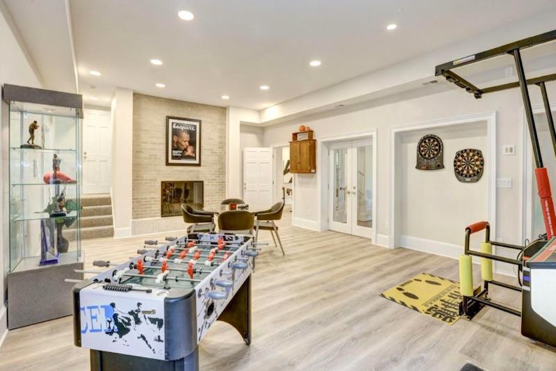 white game room