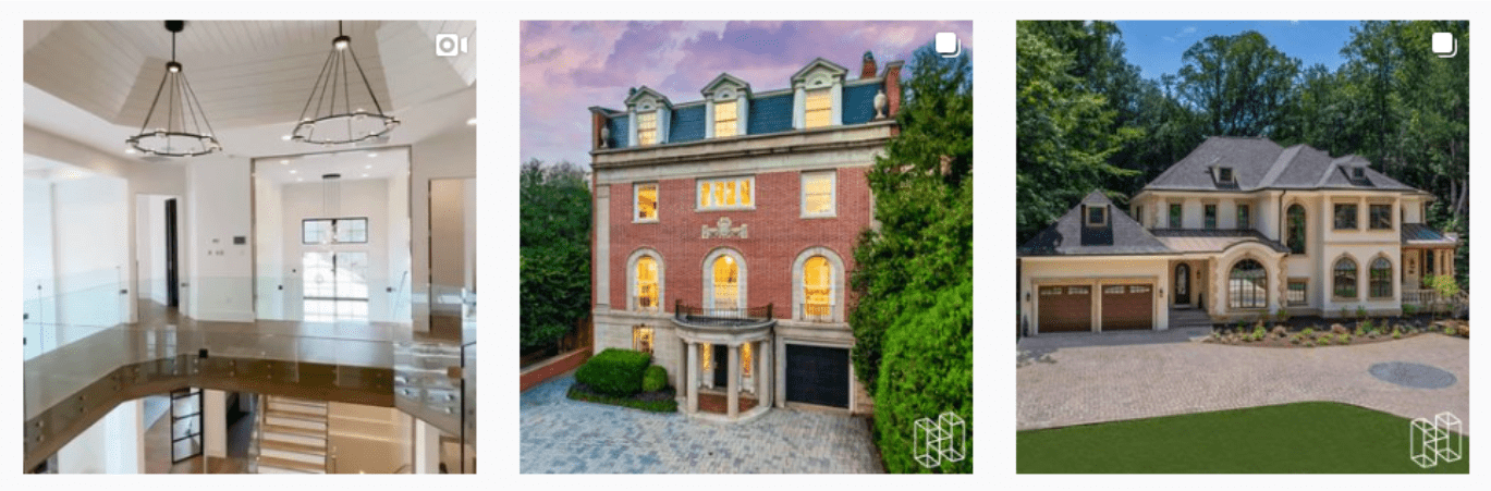 open second-floor hallway | brick home with cobblestone drive tudor home with garage