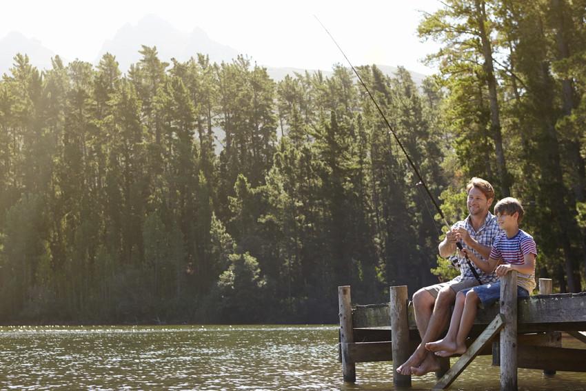 fishing on the hoover reservoir