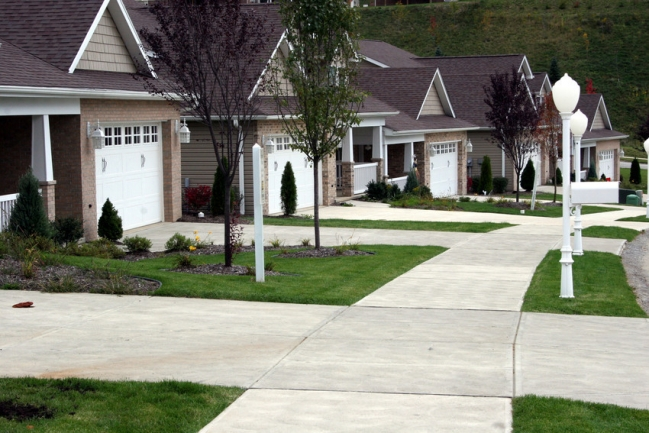 The convenience of city living meets the natural beauty of country community.