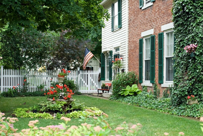Beautiful homes, lush landscaping, and convenient location make Olde Mill a popular community.