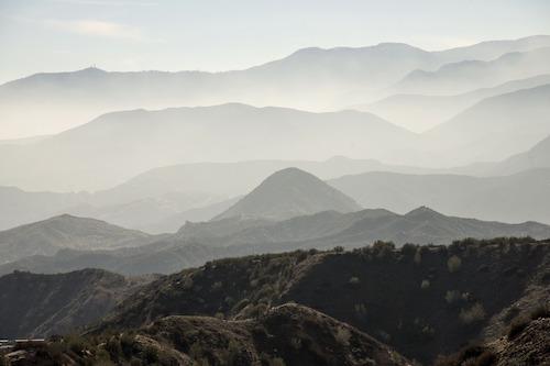 mountainous terrrain