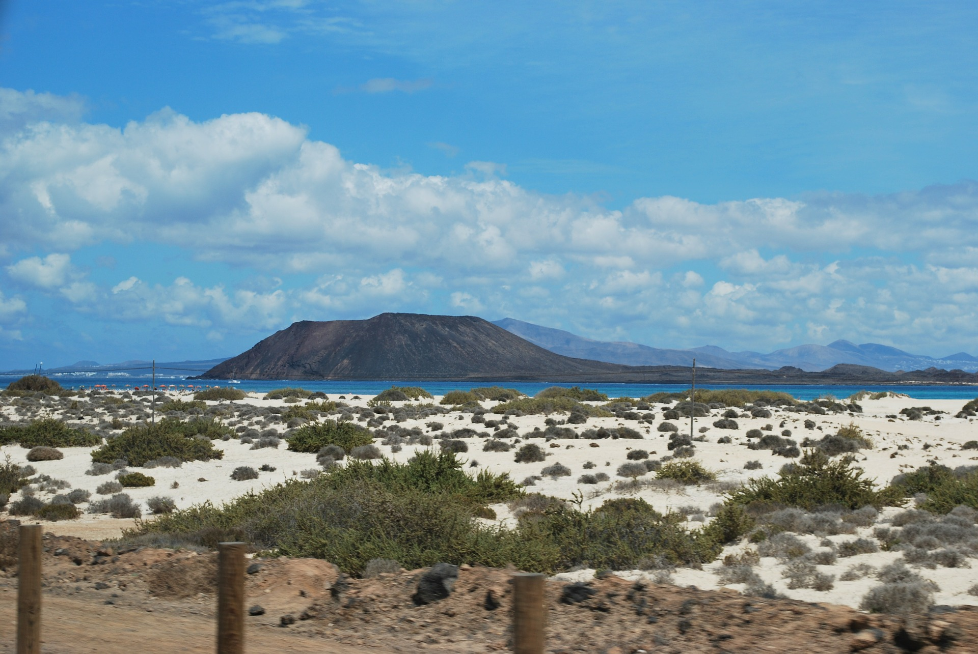 beach view of islands