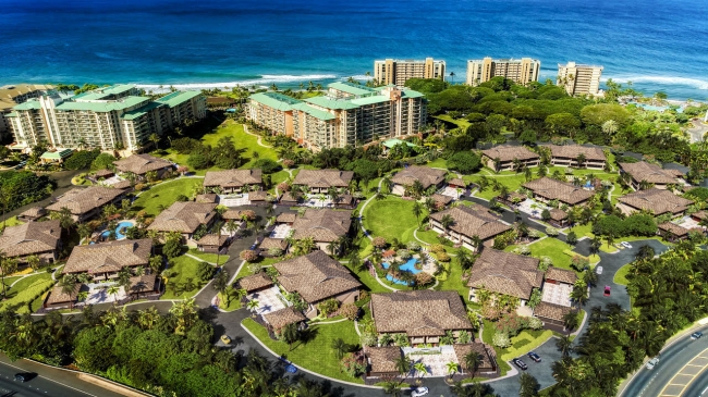 Rendering showing the latest edition to Honua Kai - Luana Garden Villas