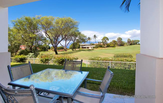 Wailea Fairway Villas offers a peaceful setting with great ocean and golf course views.