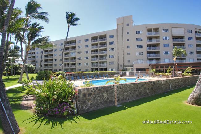 Menehune Shores is a vacation rentable condo community in Kihei.