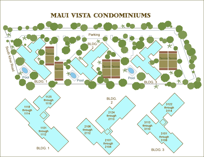 Maui Vista Condo Report With Info On Maintenance Fees Condo Prices And Kihei Real Estate News