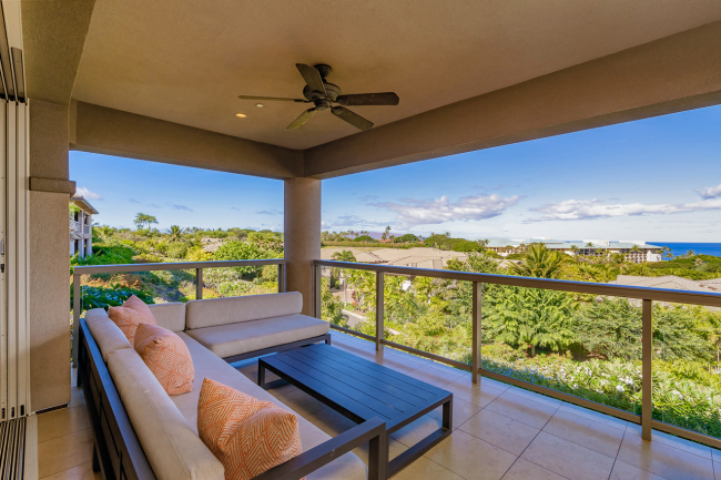 Relax On The Large Covered Lanai.