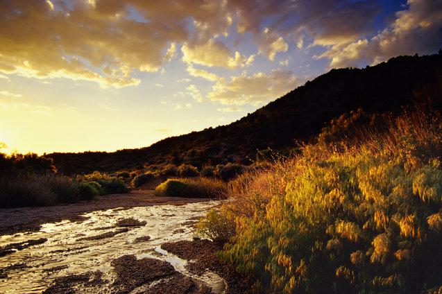 mountain range in Albuquerque