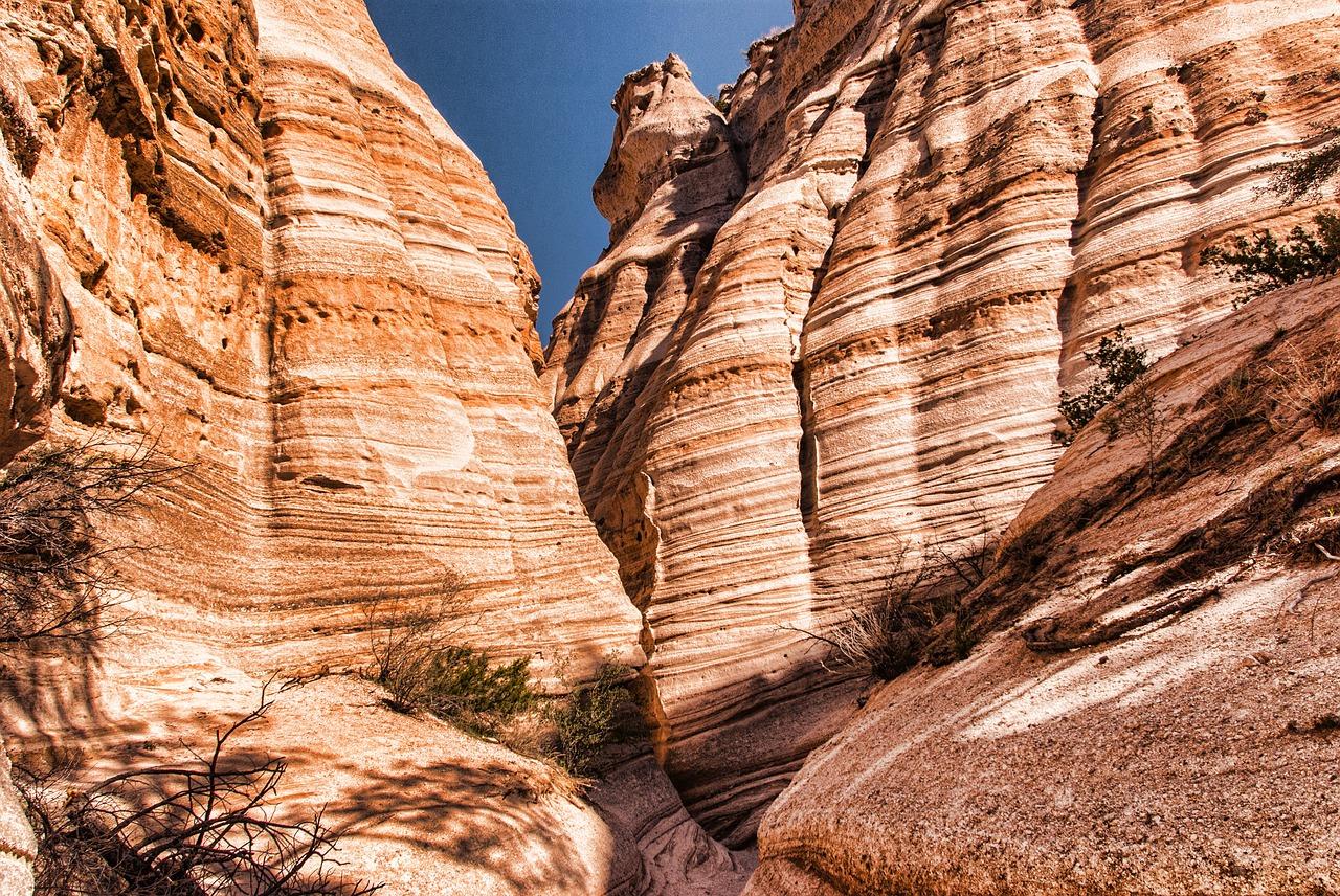 Mountain ridge in Santa Fe.