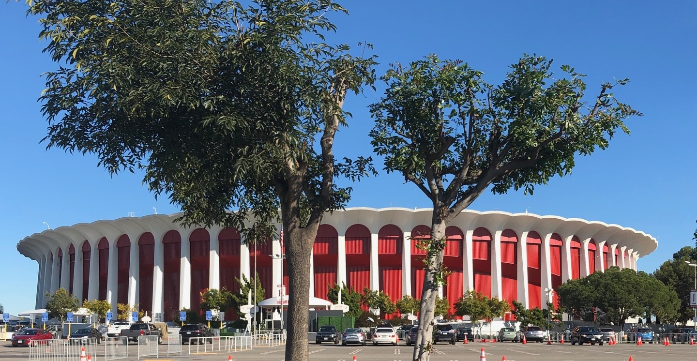 Inglewood Forum near Rams Stadium
