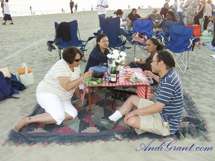 Beach Picnic in Long Beach