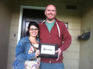 Long Beach First Time Home Buyers - The Albers family