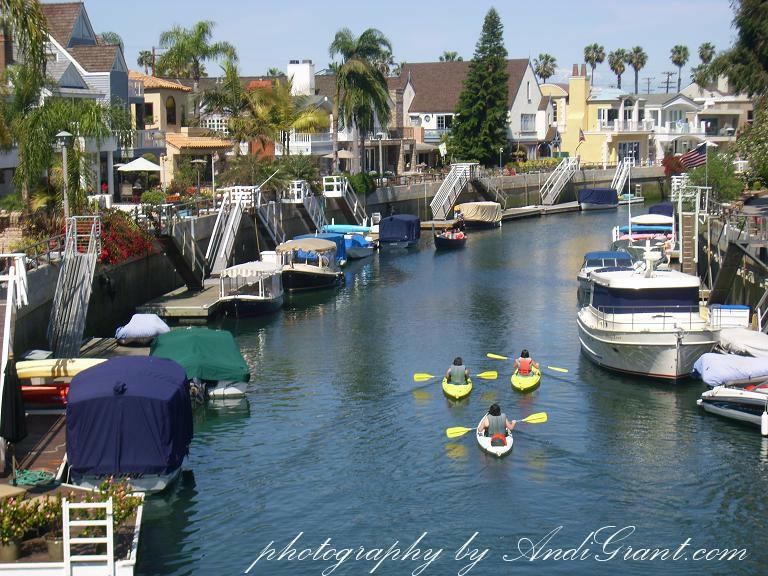 Naples Long Beach Canal Gondola Rides - Andi Grant